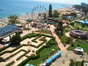 golden sands beach, bulgaria