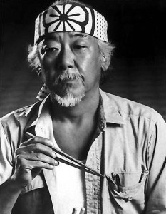 mr miyagi from karate kid